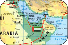 Mirage shipping agencies llc country location location of united arab emirates in world map sciox Gallery